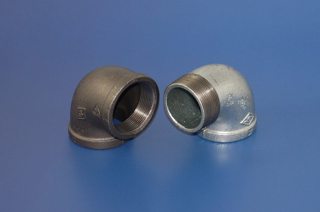 Malleable iron pipe fittings explore the possibilities