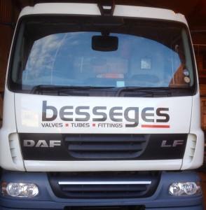 Besseges (Valves, Tubes & Fittings) Ltd Transport