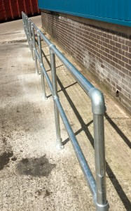 Galvanised Handrail Installations
