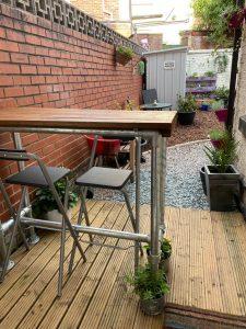 Building a Backyard Bar